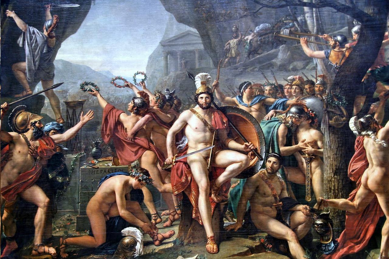 Slaget vid Thermopyle Image